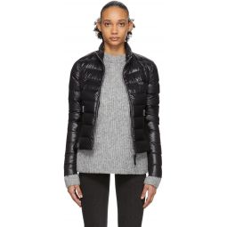 SSENSE Exclusive Black Down Cinde Fitted Jacket