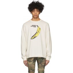 Off-White The Velvet Underground Edition Banana Oversized Sweatshirt