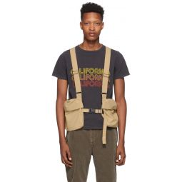 Beige Ripstop Utility Vest
