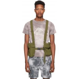 Khaki Ripstop Utility Vest