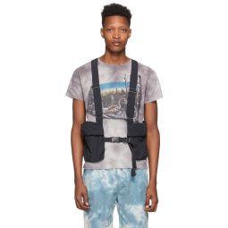 Black Ripstop Utility Vest