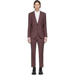 Burgundy Arti/Hesten 193 Suit