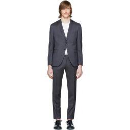 Blue Wool Reymond & Wenton Suit
