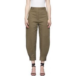 Brown Myriam Sculpted Trousers