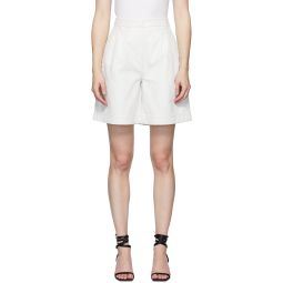 Off-White Lizard Pleated Shorts