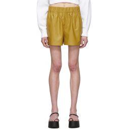 Khaki Tissue Pull-On Shorts