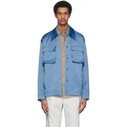 Blue Duchesse Workmen's Jacket