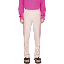 SSENSE Exclusive Pink Pull On Trousers