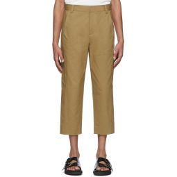 Tan Myriam Nerd Trousers