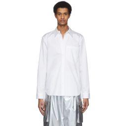 White Eco-Poplin Classic Shirt
