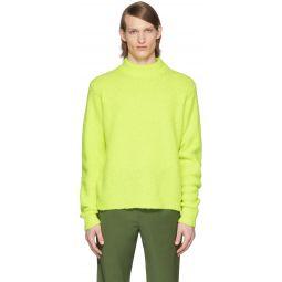 SSENSE Exclusive Yellow Alpaca Cozette Sweater