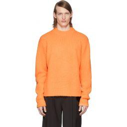 SSENSE Exclusive Orange Alpaca Cozette Sweater