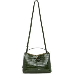 Green Croc Mini Ava Tote
