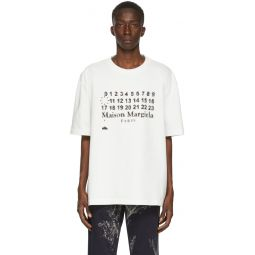 White Oversized Logotype T-Shirt