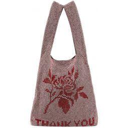 Pink Mini Wangloc 'Thank You' Shopper Tote