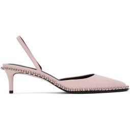 Pink Low Rina Heels