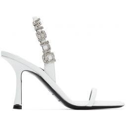 White Ivy Heeled Sandals