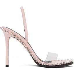 Pink Nova Heeled Sandals