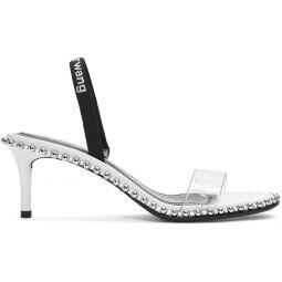 White Nova Heeled Sandals