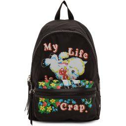Black Magda Archer Edition Large Backpack