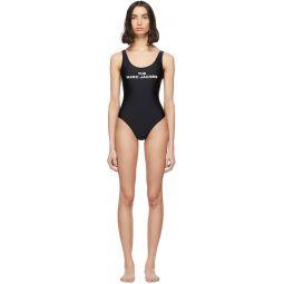 Black 'The Logo' One-Piece Swimsuit