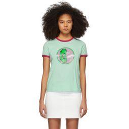 Green 'The Ringer' T-Shirt