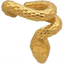 Gold Nashash Single Ear Cuff