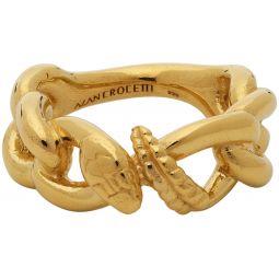 Gold Nashash Ring