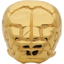 Gold Nashash Head Ring