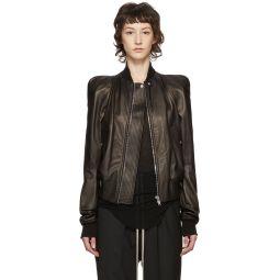 Black Leather Zionic Jacket