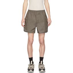 Taupe Dolphin Shorts