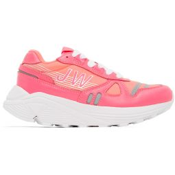 Pink Hi-Tec Synthetic Leather Sneakers