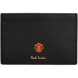 Black Manchester United Edition Scarves Card Holder