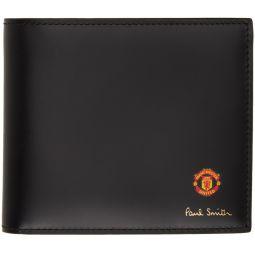 Black Manchester United Edition Scarves Wallet