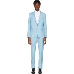 Blue Wool & Mohair Soho Suit