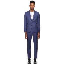 SSENSE Exclusive Blue Soho Suit