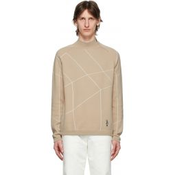 Pink Honeycomb Bunny Sweater