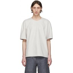 Off-White Leather T-Shirt