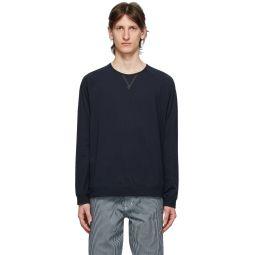 Navy Jersey Long Sleeve T-Shirt