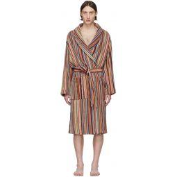 Multicolor Multi Stripe Robe