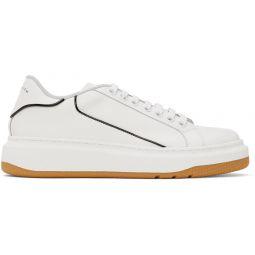 White Leyton Sneakers