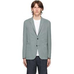 Blue Two-Button Blazer