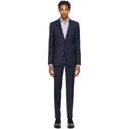 Navy Wool Classic Suit