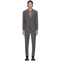 Grey Wool Travel Suit