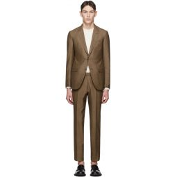 Brown Silk Milano Suit
