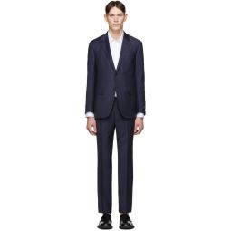 Navy Wool Milano Easy Suit