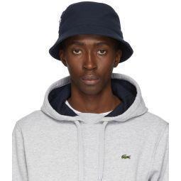 Navy Cotton Bucket Hat