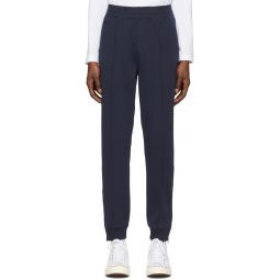 Navy Jersey Track Pants