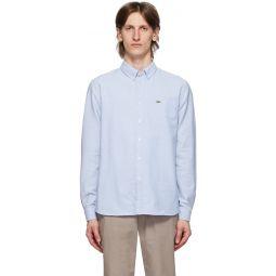 Blue Oxford Regular-Fit Shirt