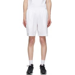 White Novak Djokovic Edition Tennis Shorts